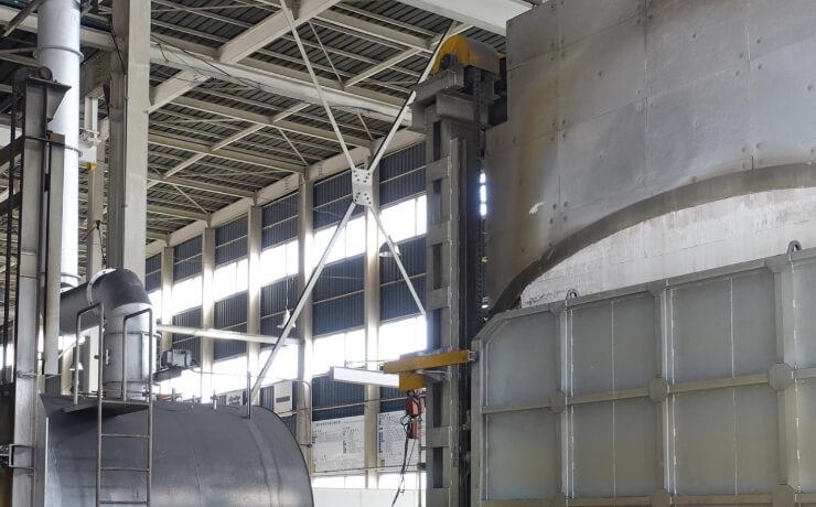 熱処理メーカー工場 生産管理システム
