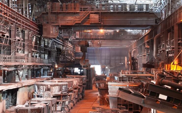 熱処理メーカー工場 MA500更新